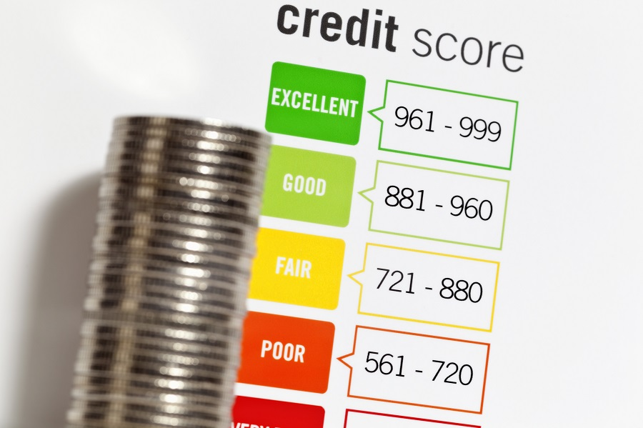 Credit Score expressed by a chart that uses a numerical formula based on an analysis of an individual's credit files to assess the creditworthiness of that person from Very Poor to Excellent. Protecting your credit score is important and not doing so will make it difficult or more expensive to borrow money.