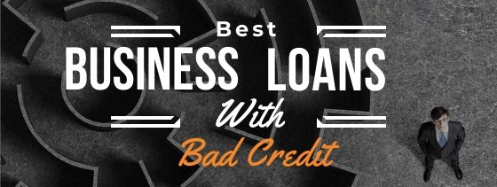 Best-business-loans-with-bad-credit-man-staring-up-next-to-a-maze